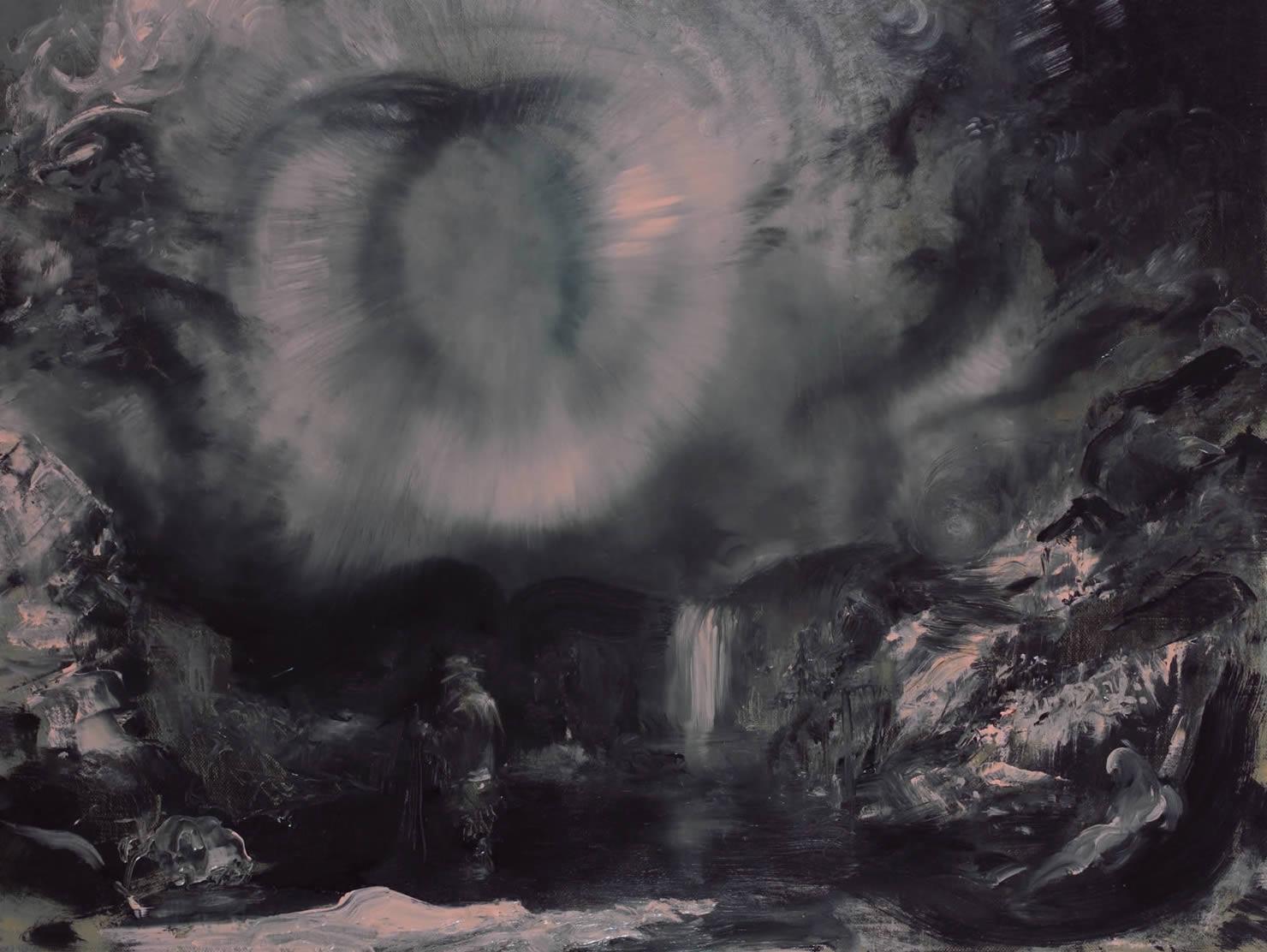 jeff wigman painting hudson river breakdown